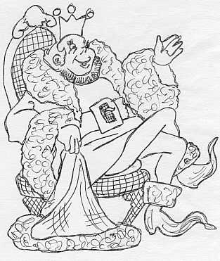 313 x for Old king cole coloring page